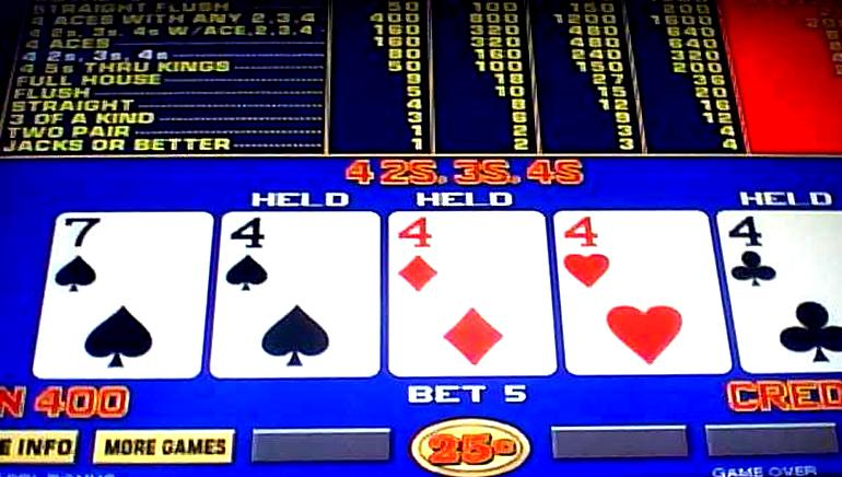 Online Casino Video Poker Trainer
